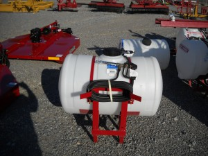 NEW 55 GAL SPRAYER W/ HAND GUN, W/ PUMP Image