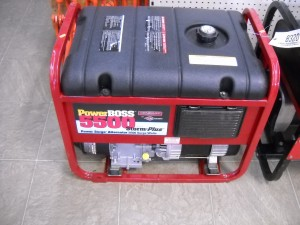 BRIGGS POWER BOSS -5500 WATT  Image