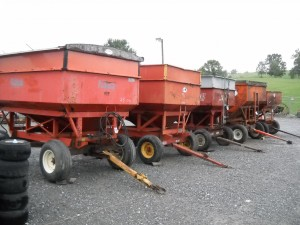 CORN WAGONS  Image