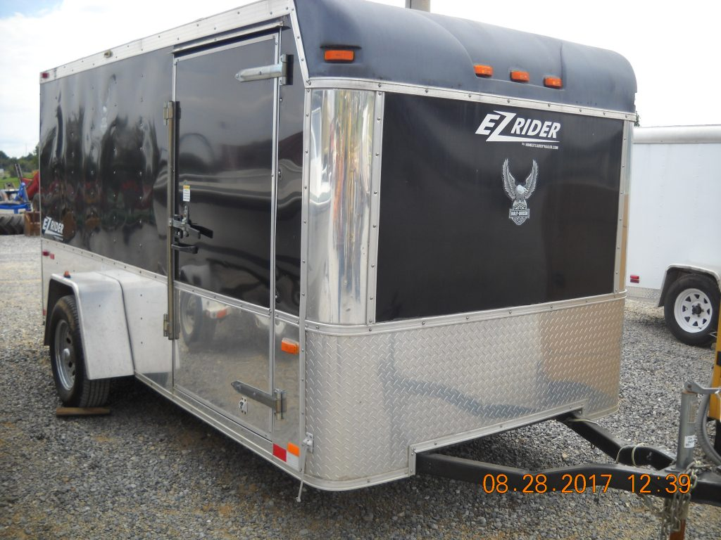 ENCLOSED 6 X 12 W/ RAMP DOOR Image