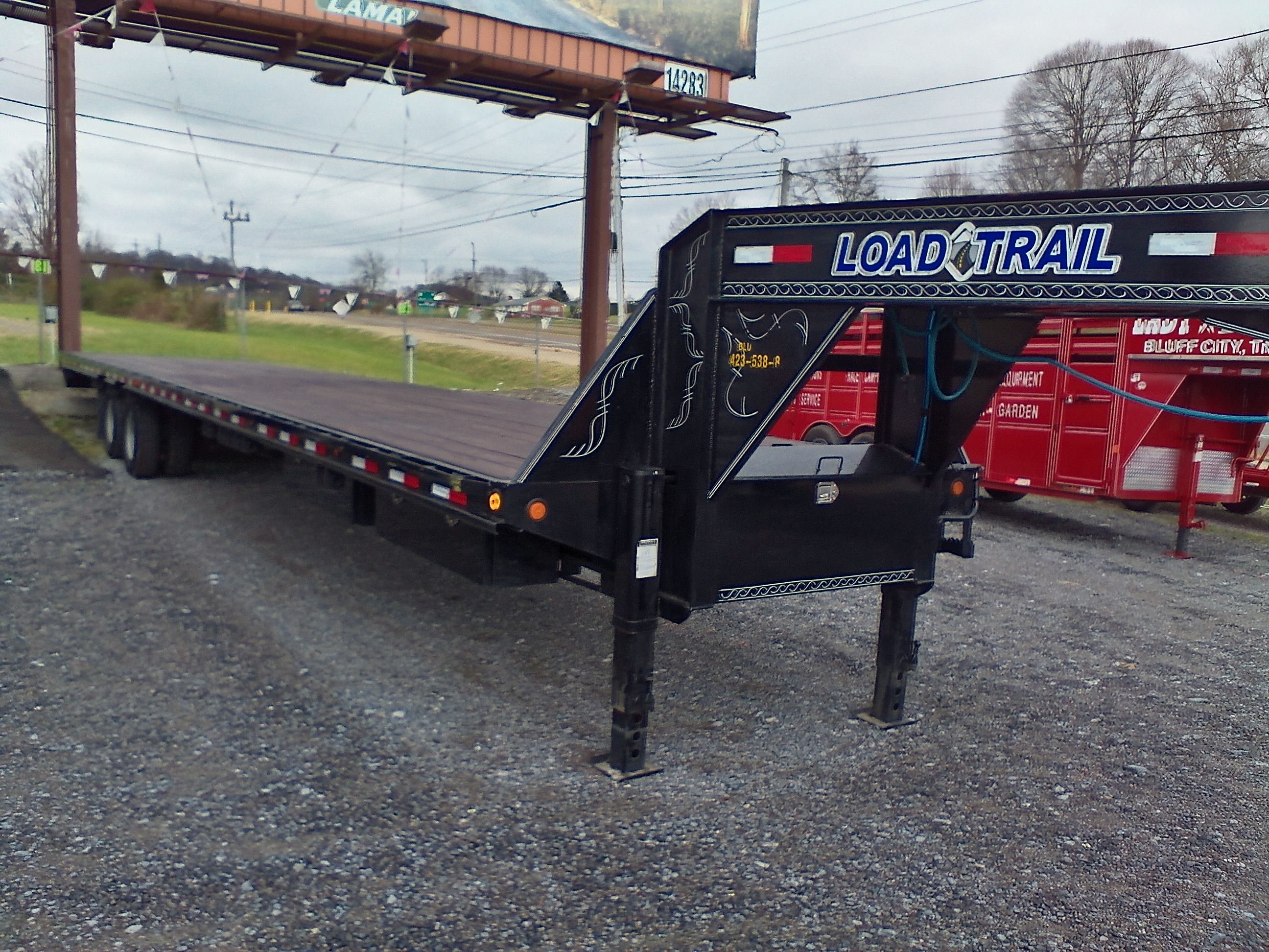 40 FT. LOAD TRAIL G.N. TRAILER Image