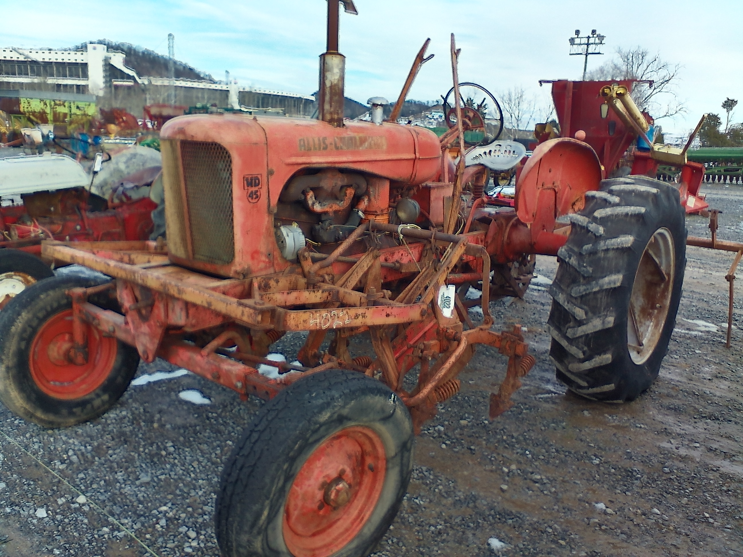 ALLIS CHALMBERS WD 45 W/ EQUIP. Image