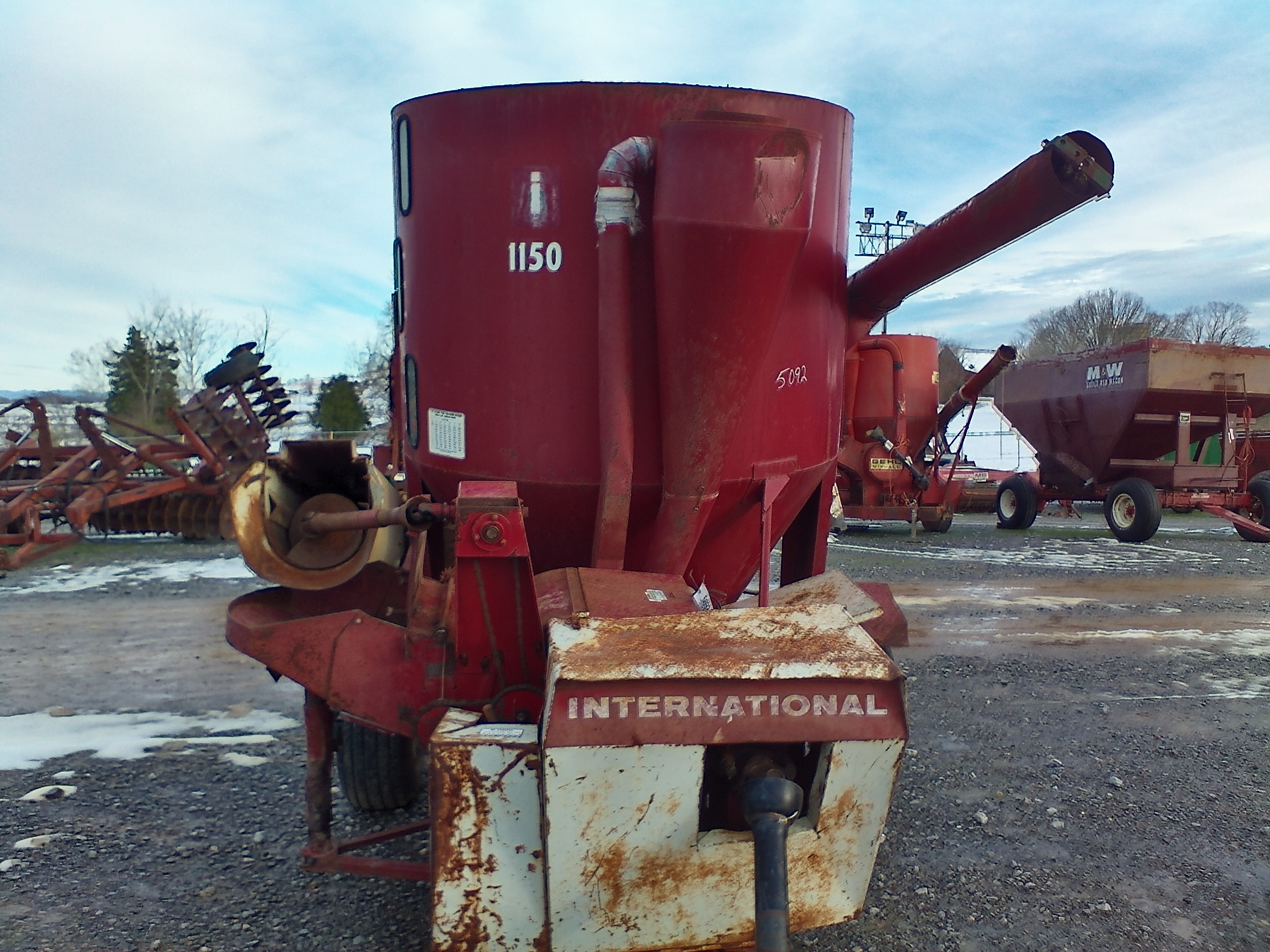INTERNATIONAL 1150 GRINDER MIXER Image
