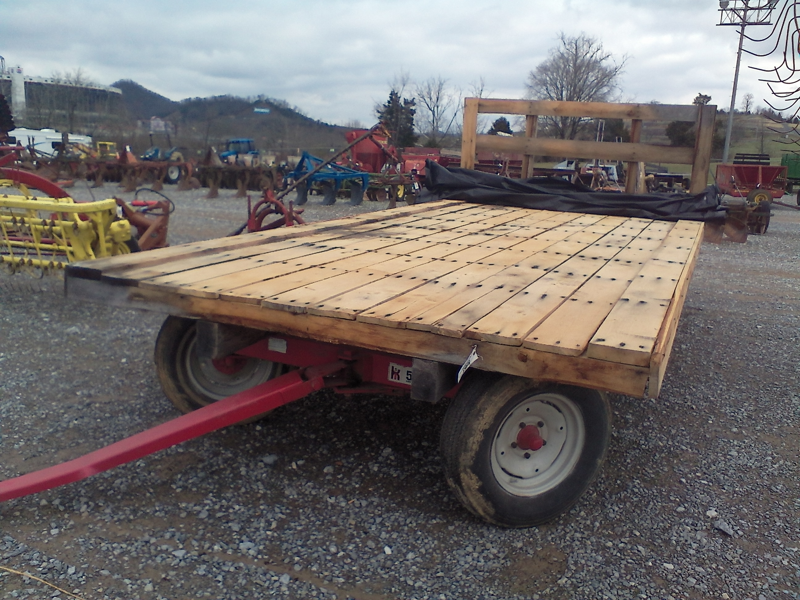 HAY WAGON W/ 18 FT. OAK BED Image