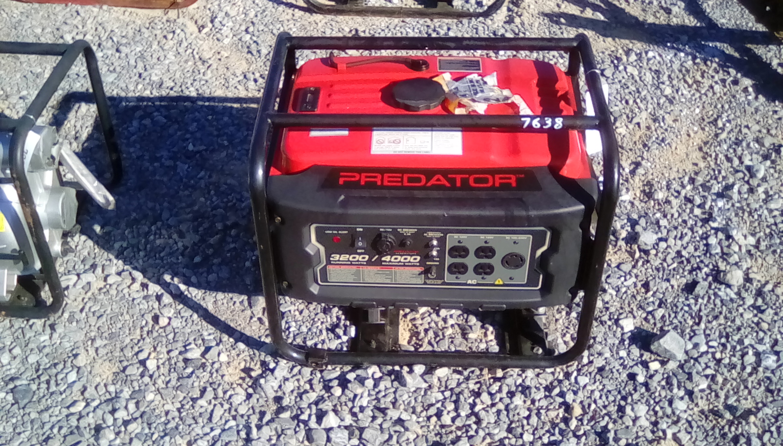 PREDATOR 4000 GAS POWERED GENERATOR Image