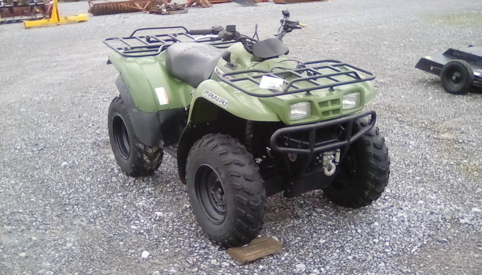 KAWASKI PRAIRIE 360 ATV Image
