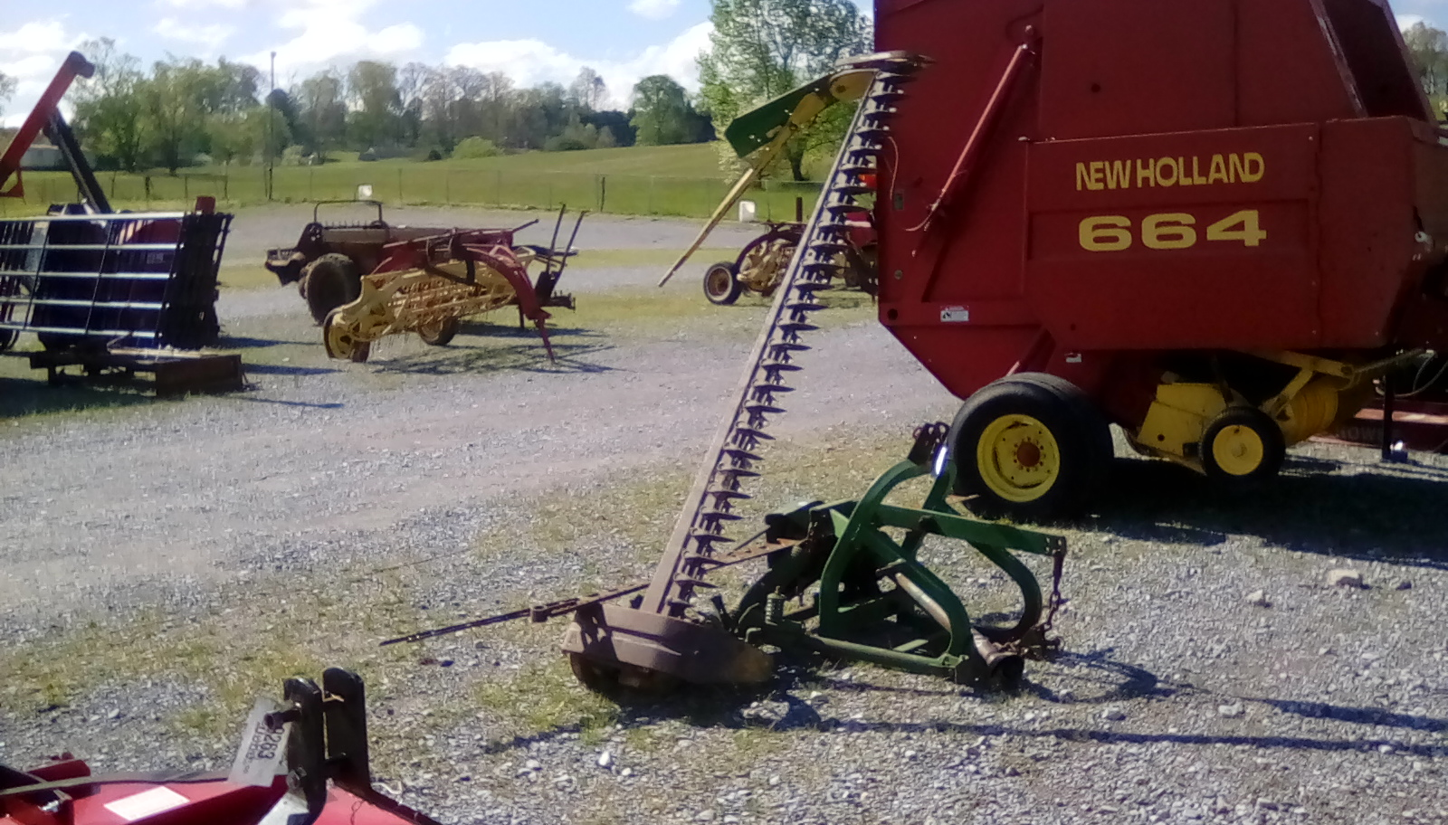 JOHN DEERE 350 SICKLE MOWER Image