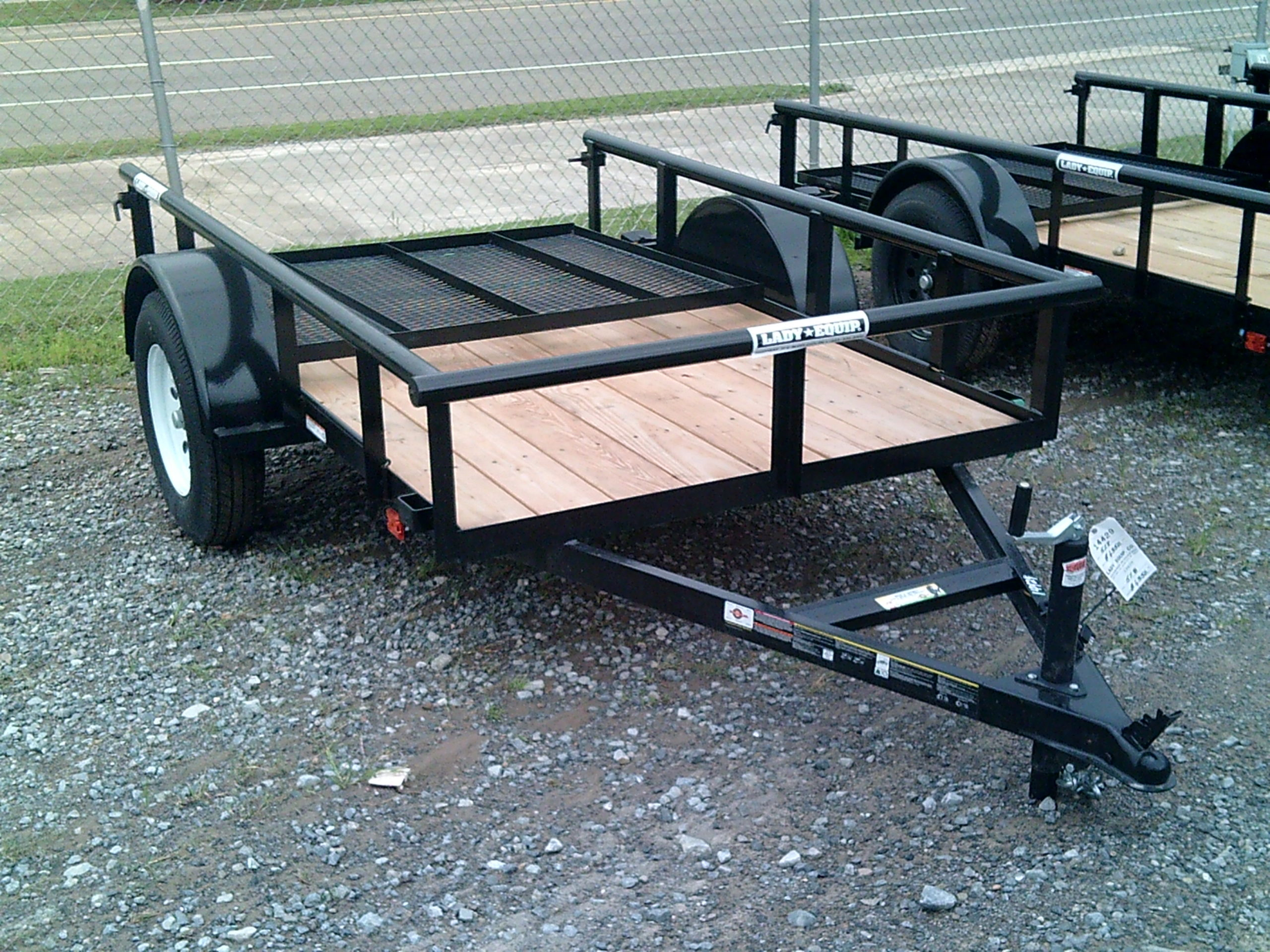 5X8 CARRY ON UTILITY TRAILER Image