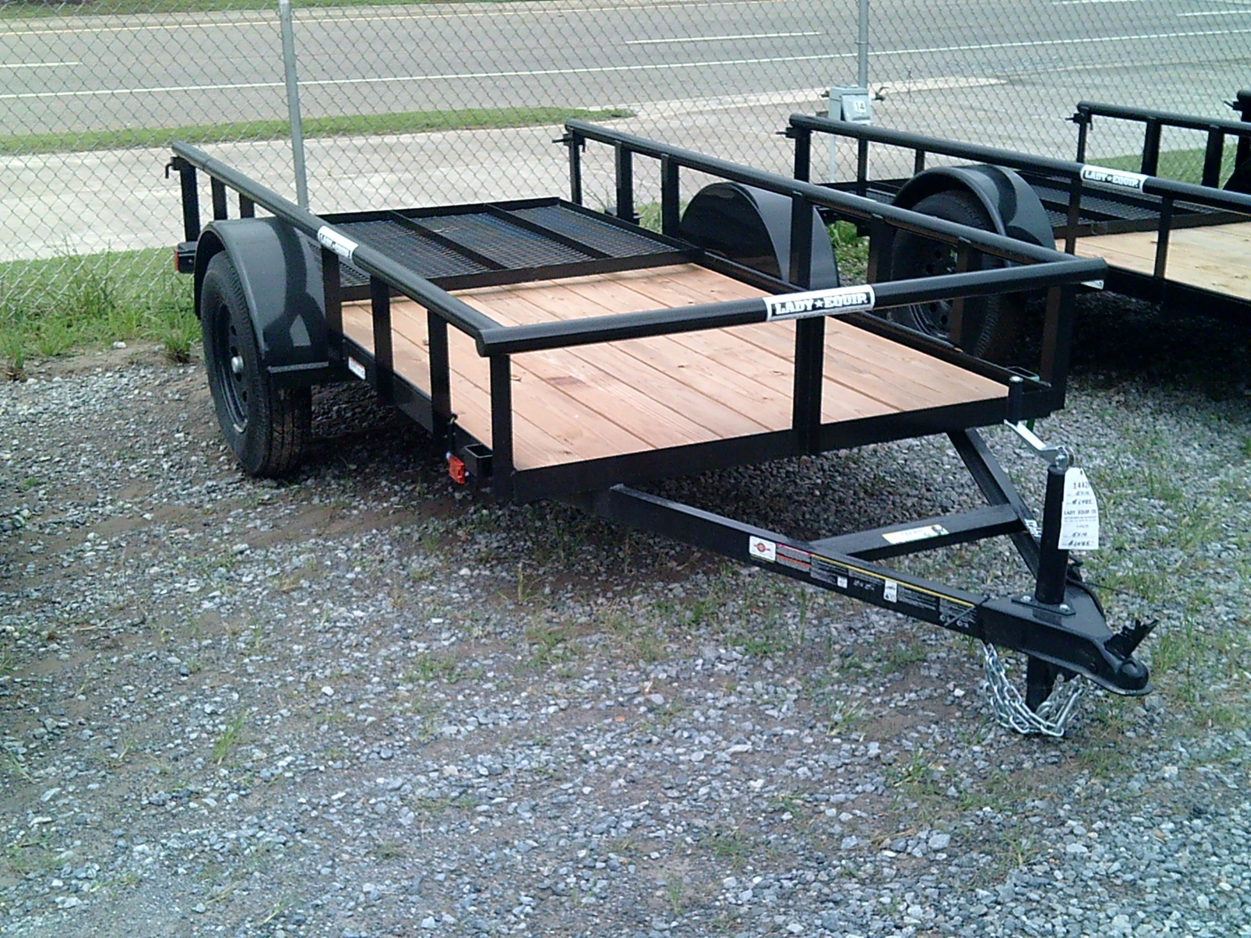 5X10 CARRY ON UTILITY TRAILER Image
