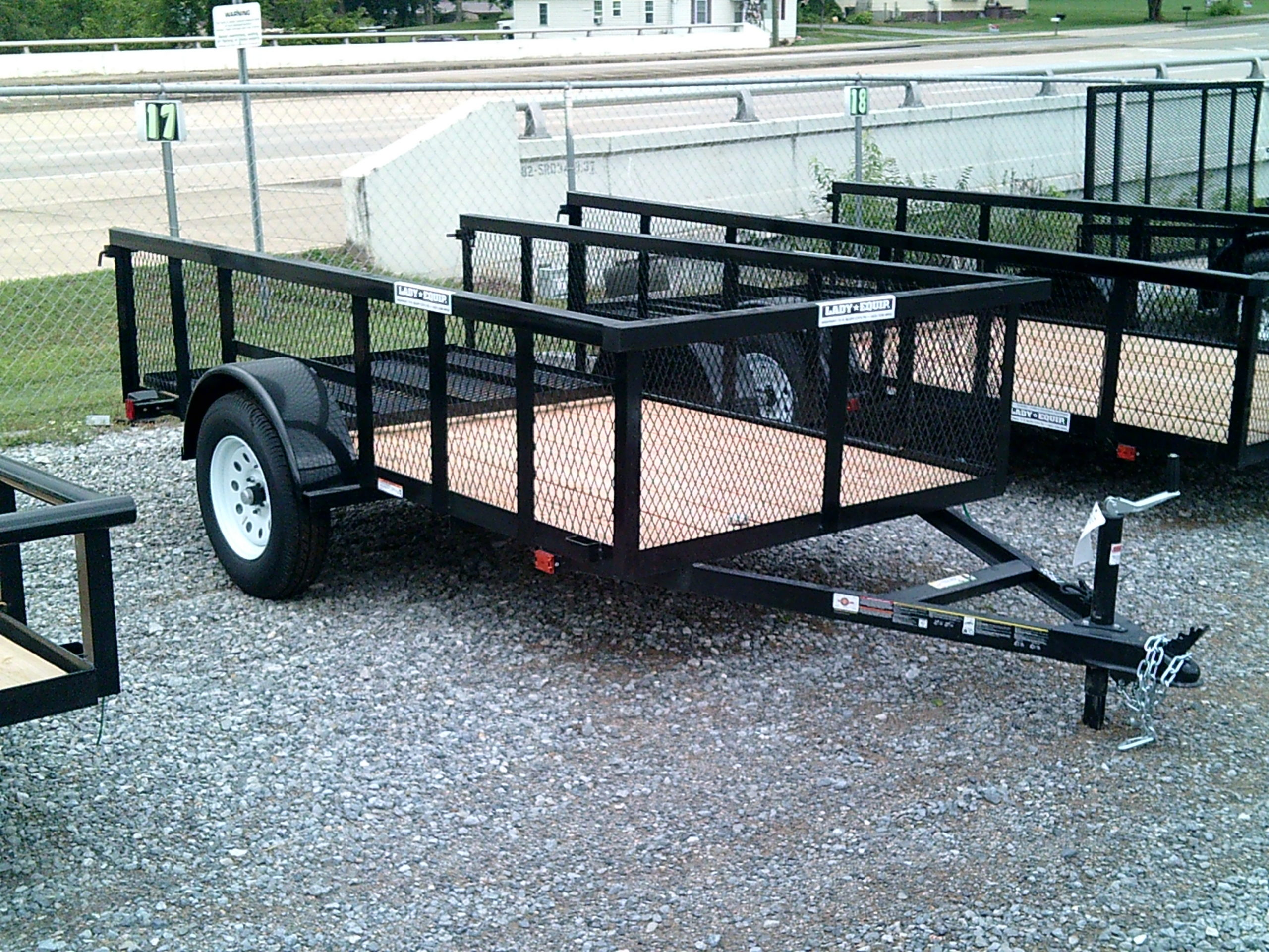 5X10 CARRY ON HIGH SIDE UTILITY TRAILER Image