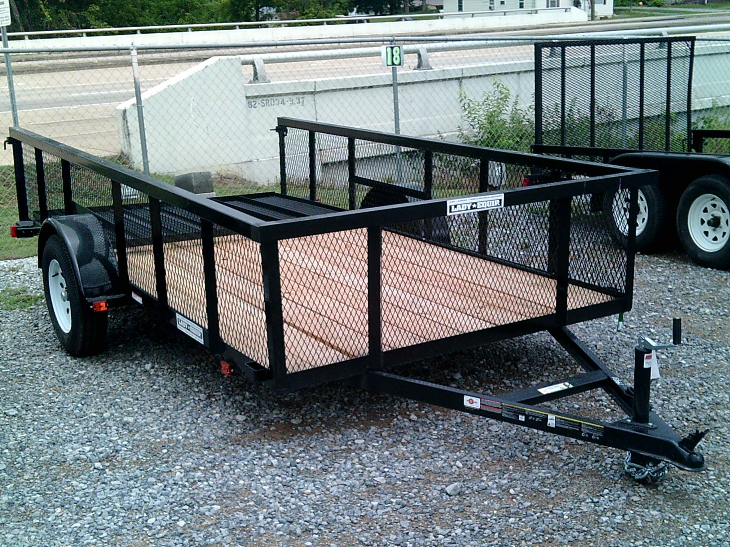 6X12 CARRY ON HIGH SIDE UTILITY TRAILER Image
