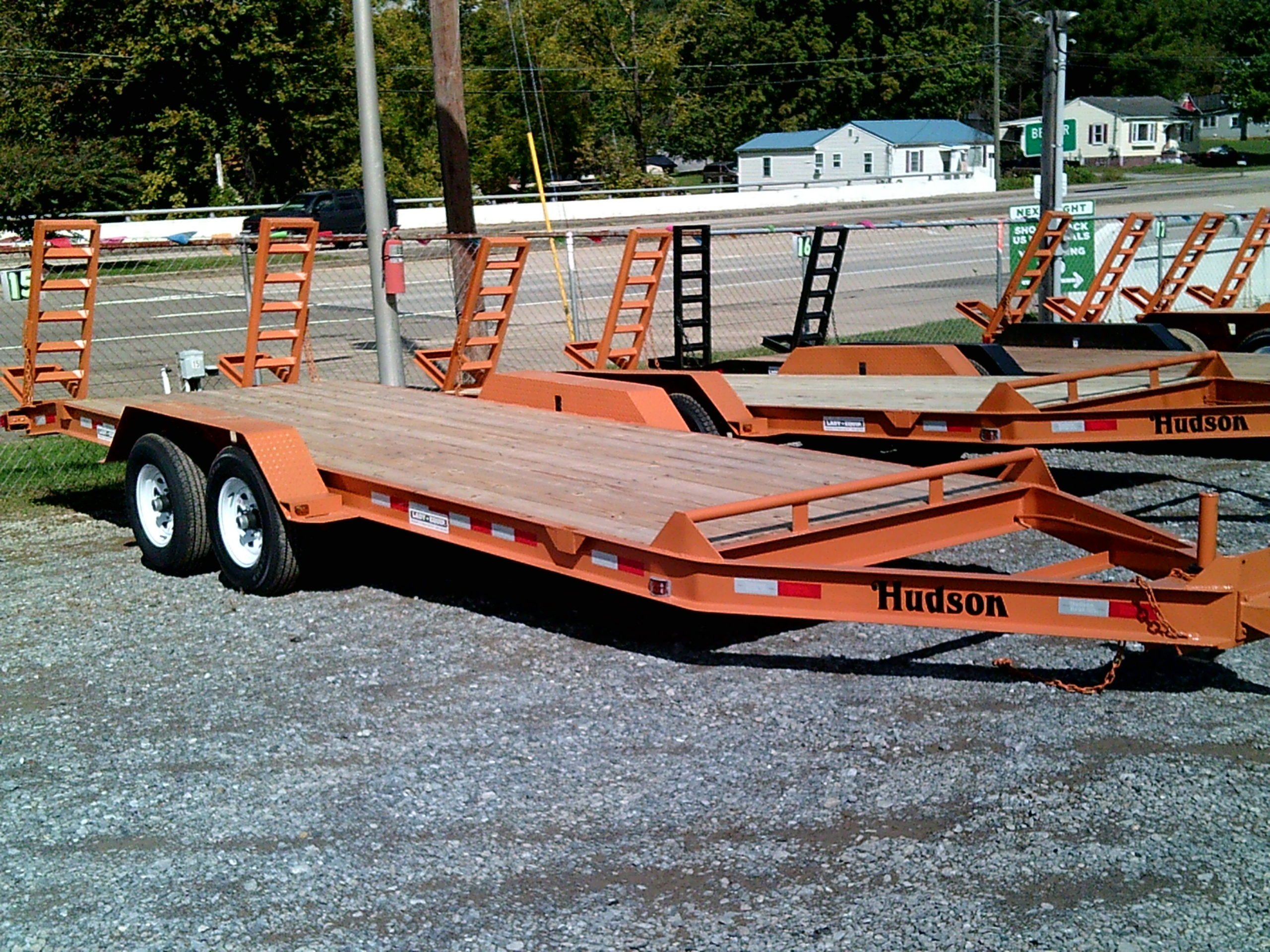 20 FOOT HUDSON 10K TRAILER (NEW) Image