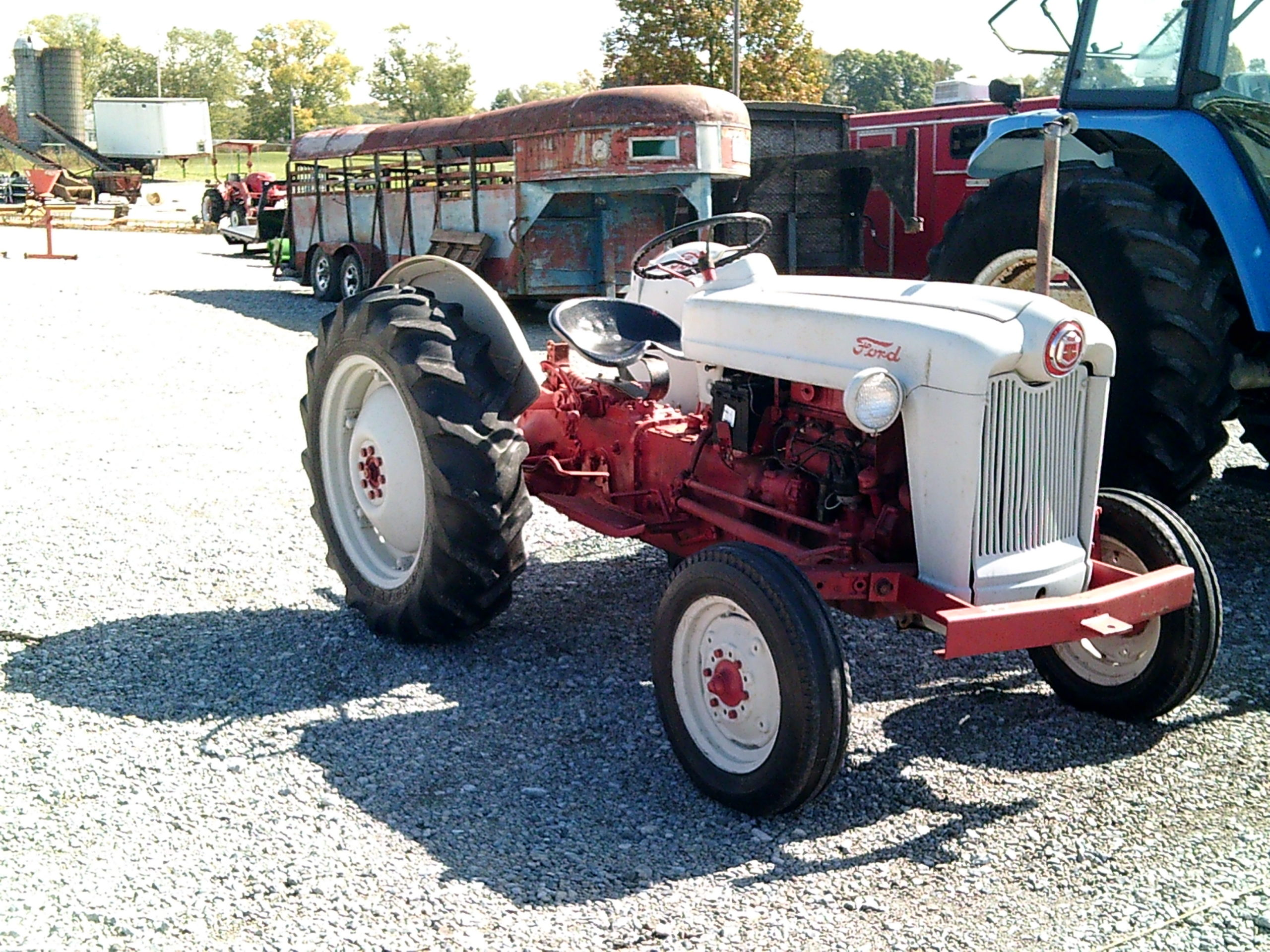 FORD JUBILEE TRACTOR Image